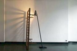 Le lit et la lampe